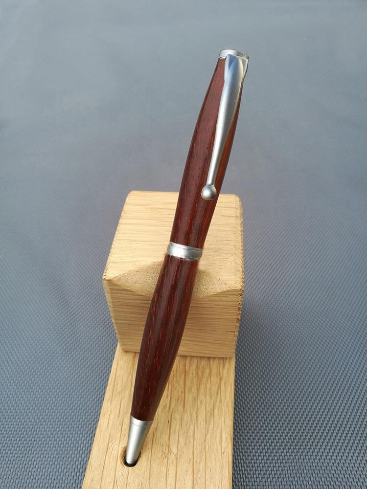 stylo en bois de padouk charme et l gance t coutrillon. Black Bedroom Furniture Sets. Home Design Ideas