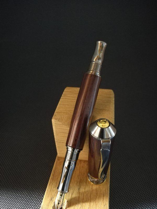 Stylo plume en bois de cocobolo 2